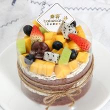 鲜果巧遇【4英寸蛋糕 直径10cm】